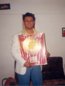 gold disc for album won along with adesh shrivastav